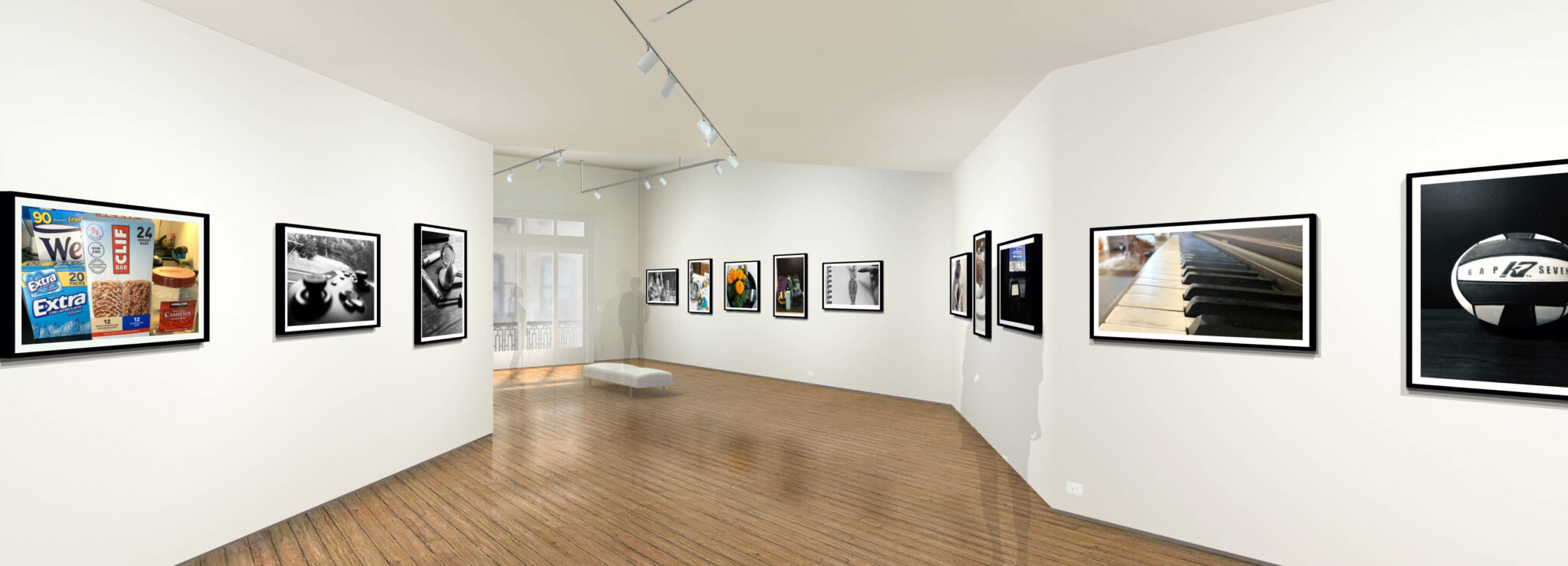 Pictures in virtual gallery